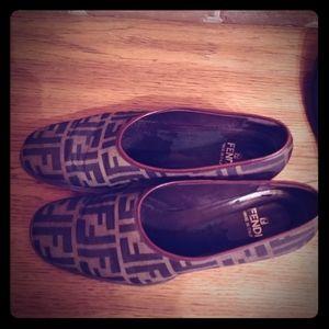 Vintage Fendi loafers